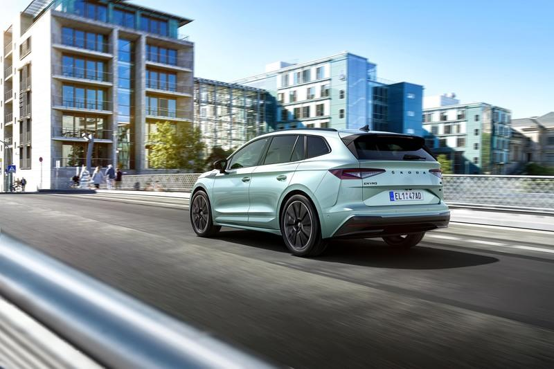 The Enyaq iV is Skoda's First Electric SUV And Its Most Powerful Vehicle Yet Exterior - image 932038