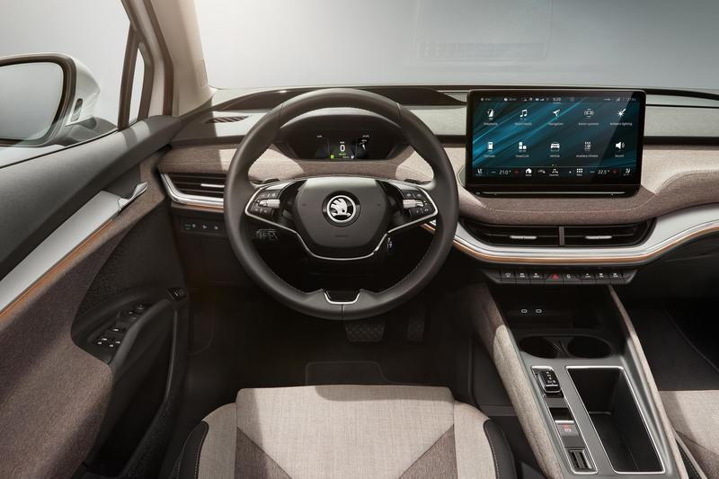 The Enyaq iV is Skoda's First Electric SUV And Its Most Powerful Vehicle Yet Interior - image 931988