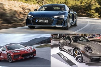The 2020 Chevy C8 Corvette Can Hold Its Own Against the Porsche 911 and Audi R8