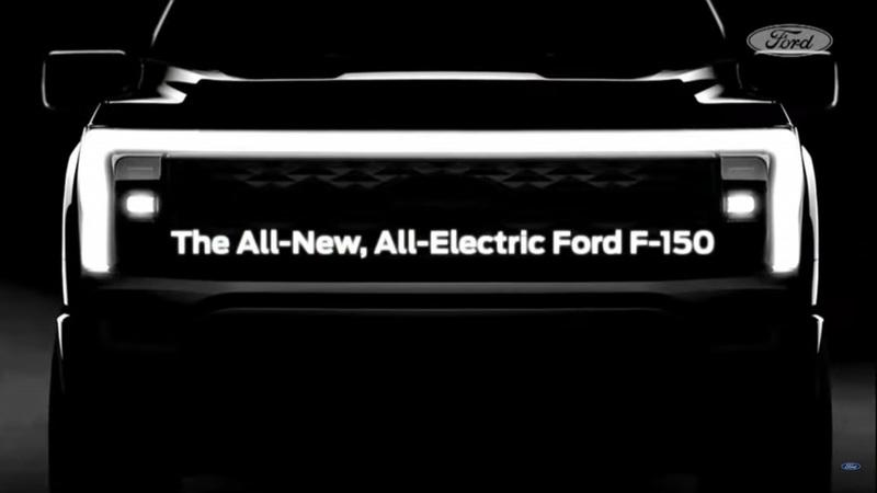 The Electric Ford F-150 Has Been Teased Looking Ugly As Sin