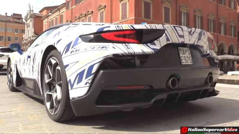 The Maserati MC20 Actually Sounds Decent In This New Video