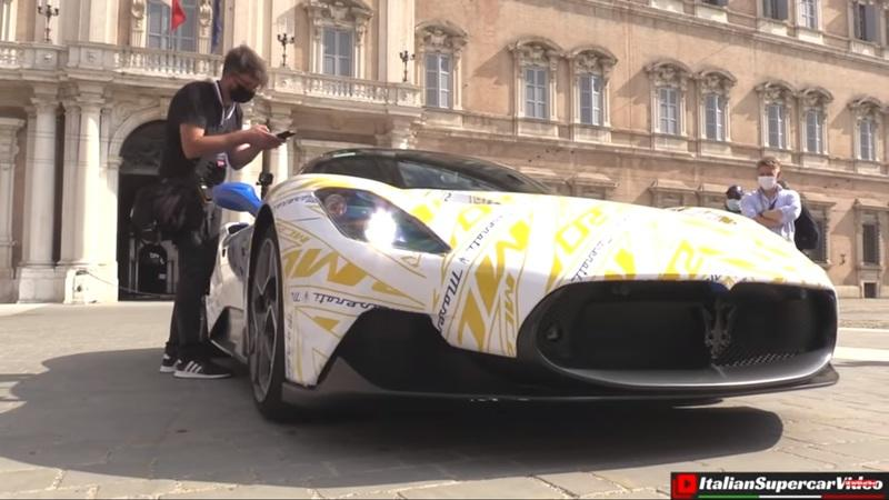 The Maserati MC20 Actually Sounds Decent In This New Video - image 934489