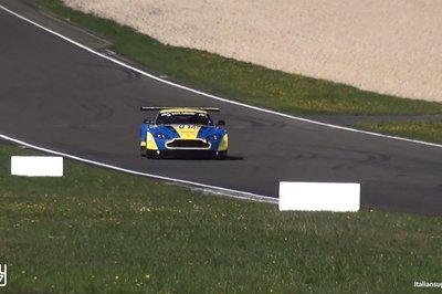 The Sound Of This Aston Martin Vantage GT3 Will Make You Miss The V-12 Engine
