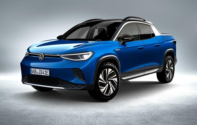 The Volkswagen ID.4 Would Actually Make a Decent-Looking Little Truck