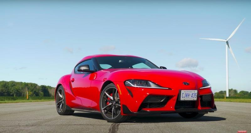 There's No Way The Toyota Supra Can Beat The Lexus LC500 In a Drag Race, Right?