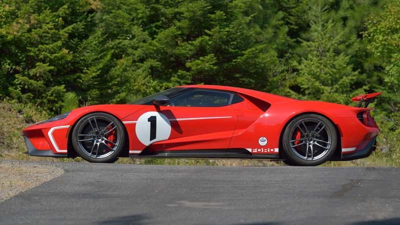 This 2018 Ford GT '67 Heritage Edition Could Change Hands for Millions