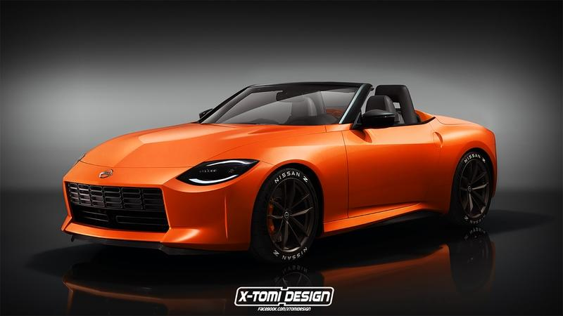 The Nissan Z Proto could lend its design to a 400Z convertible and this Is What it Could Look Like