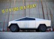 This Tesla Cybertruck Is Really A Ford F-150 Raptor Underneath - image 938217