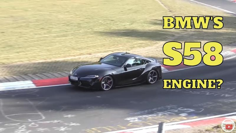 This Toyota Supra Mule Could Be Spitting the Tune of The BMW M3's S58 Inline-Six