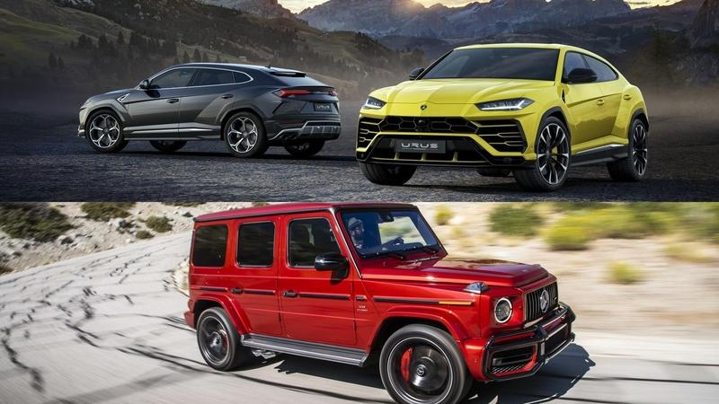 Watch A Mercedes-AMG G63 Take On The Lamborghini Urus In A Drag Race