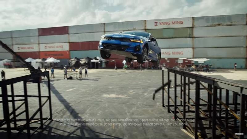 We Don't Know Why, But Kia Is Doing Stunts with the new K5 (Optima) Sedan
