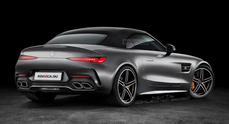 Would You Like the 2022 Mercedes-AMG SL If It Looked Like This Rendering?