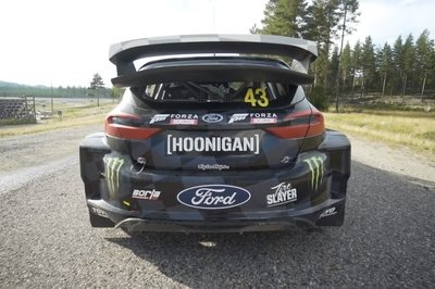 You Have to Love Watching Ken Block Hoon The All-Electric Ford Fiesta ERX