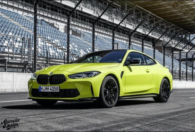 You'll Crave the Normal Kidney Grille After Seeing This Render of the BMW M4