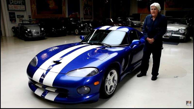 Jay Leno Drives the Awesome 1996 Dodge Viper GTS