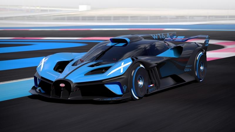The Bugatti Bolide is a Lightweight, Ludicrous, 1,800+ Horsepower Track Weapon