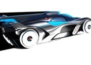 The Bugatti Bolide is a Lightweight, Ludicrous, 1,800+ Horsepower Track Weapon - image 944599