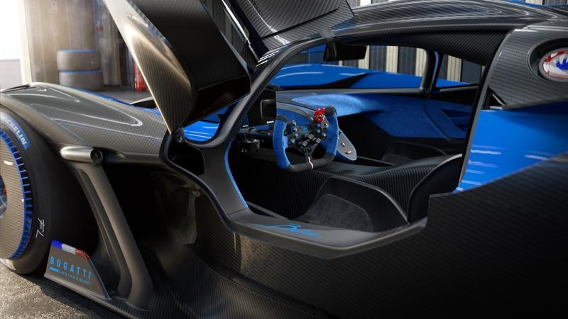 The Bugatti Bolide is a Lightweight, Ludicrous, 1,800+ Horsepower Track Weapon Interior - image 944579