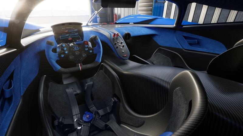 The Bugatti Bolide is a Lightweight, Ludicrous, 1,800+ Horsepower Track Weapon Interior - image 944580