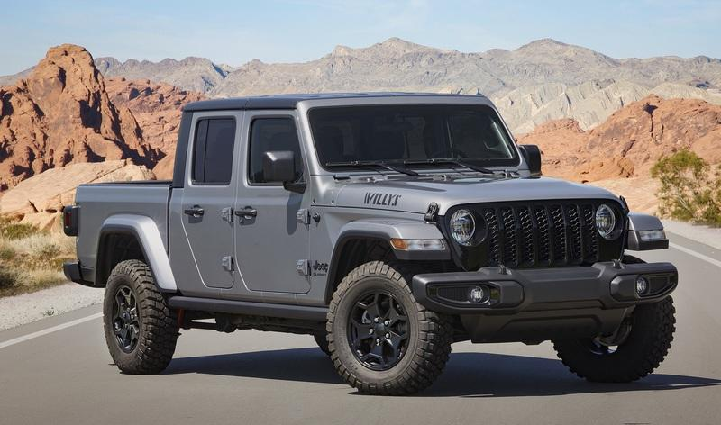 2021 Jeep Gladiator Willys