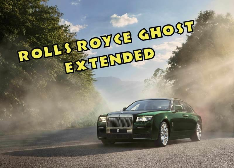 2021 Rolls Royce Ghost Extended