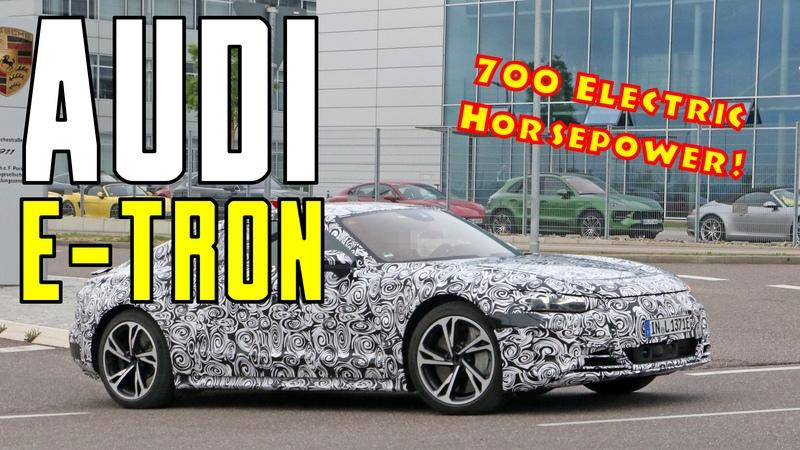 700 Horsepower - Is That Enough for the Audi RS E-Tron GT?