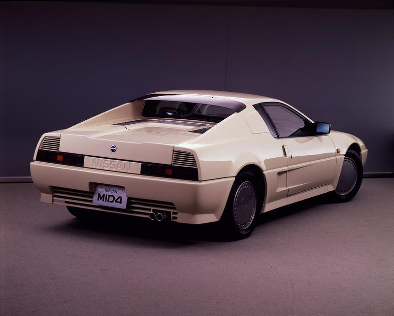 Alternate Timeline: The Nissan MID4 Concepts Could Have Humbled The Acura NSX - image 943885
