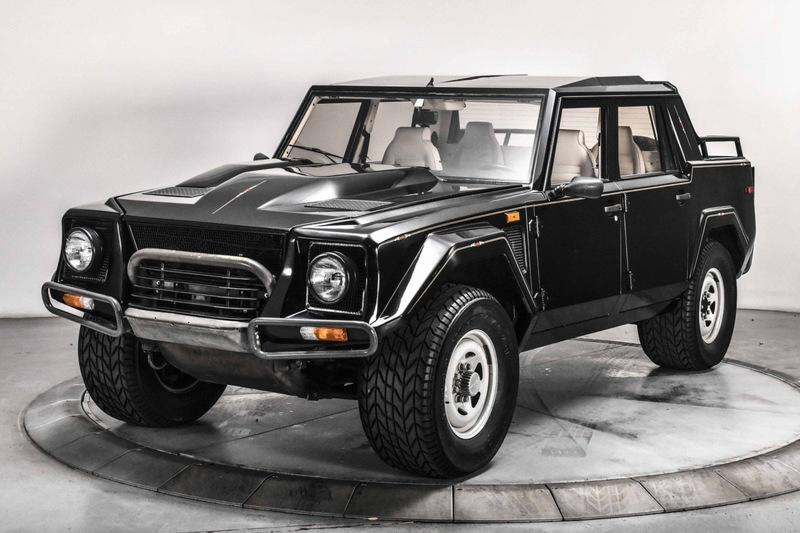Amazing Car for Sale: 1989 Lamborghini LM002 - The Real Lamborghini SUV