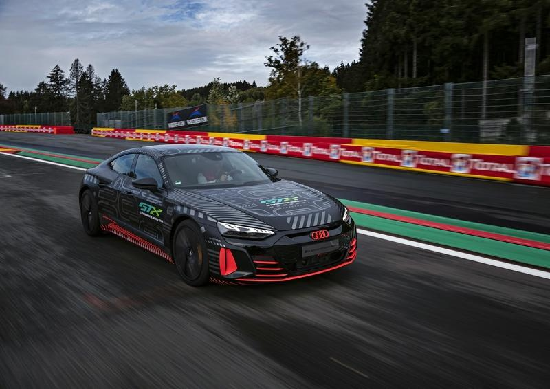 There Could Be a Hidden Meaning Behind Audi Teasing the E-Tron GT With R8 LMS Race Cars