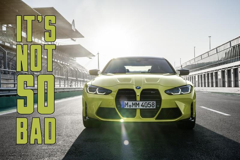 BMW's New Kidney Grille Doesn't Look as Bad on the All-New M4 As We Thought