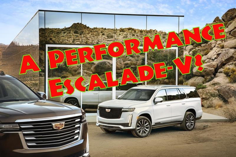 Cadillac Could Build a High-Performance Escalade-V, Not That The World Needs It