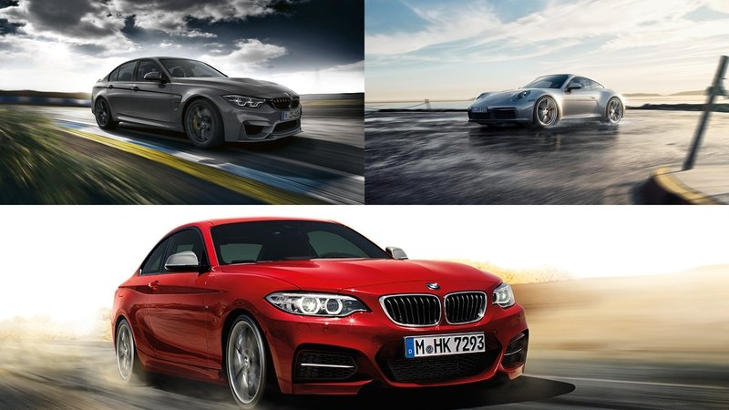Can A Tuned, 490-HP BMW M240i Take On the Porsche 911CS and BMW M3?