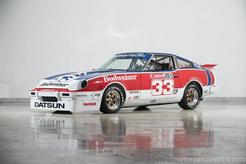 Car for Sale: Paul Newman's 1979 Datsun 280ZX Championship Racecar