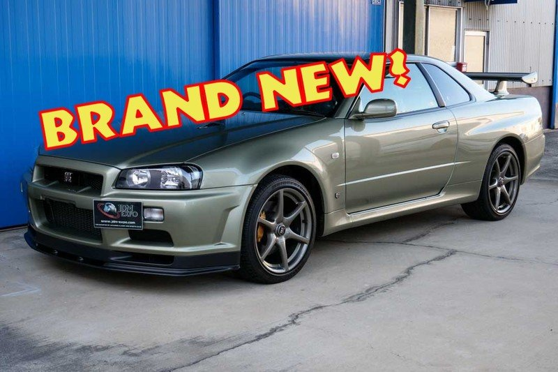 Car For Sale: BRAND-NEW R34 Nissan Skyline GT-R V-Spec II Nur