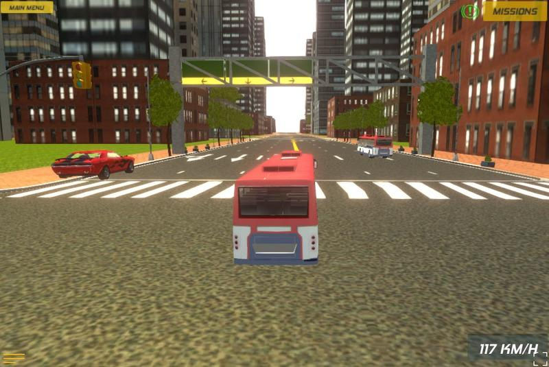 Download Bus Rush Game  Background