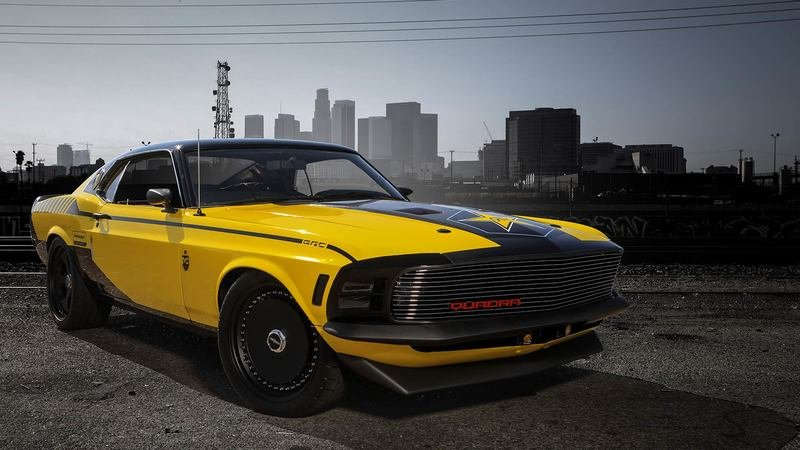 CD Projekt Has Brought Cyberpunk 2077's '70s Ford Mustang to Life