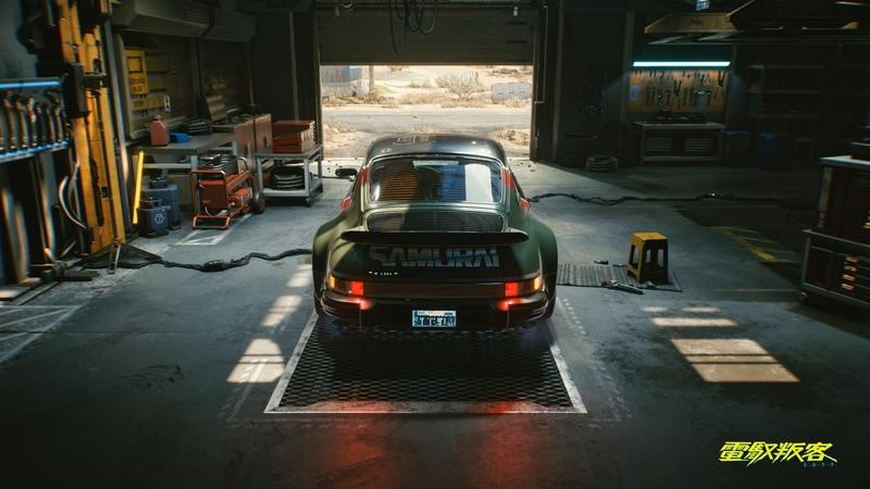 This 1977 930-Gen Porsche 911 Turbo Is The Only Real Car In Cyberpunk 2077 Exterior - image 941997
