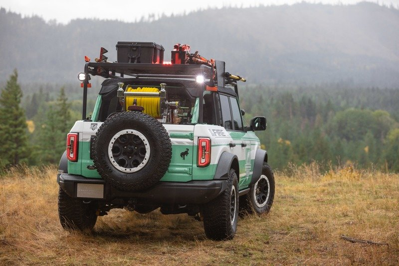 2020 Ford Bronco Wildland Fire Rig Concept