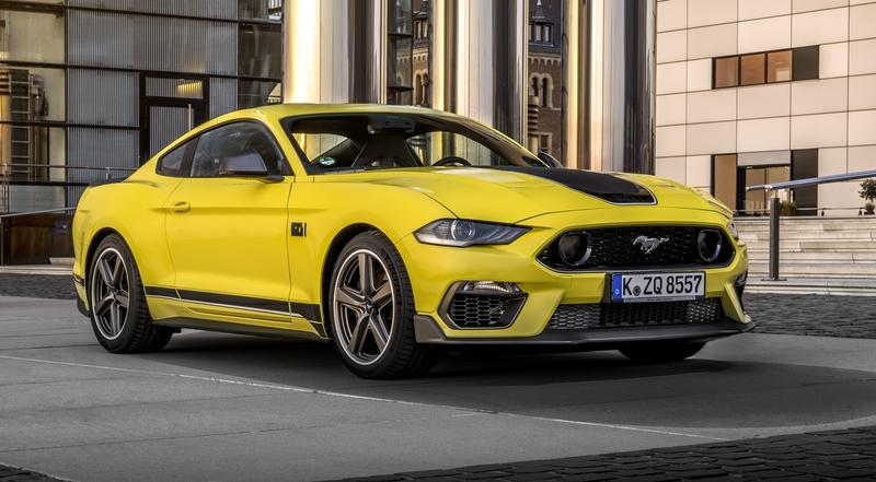 Ford Will Sell the Mustang Mach 1 In Europe, But There's a Big Catch