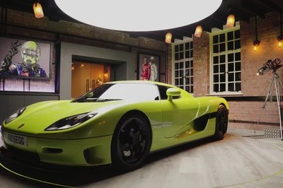 Get Inside the Koenigsegg CCR - The Car That Humbled the Legendary McLaren F1