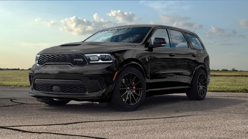 If 700 Horsepower Isn't Enough, Hennessey Can Bost Your Dodge Durrango to 1000+ Horsepower