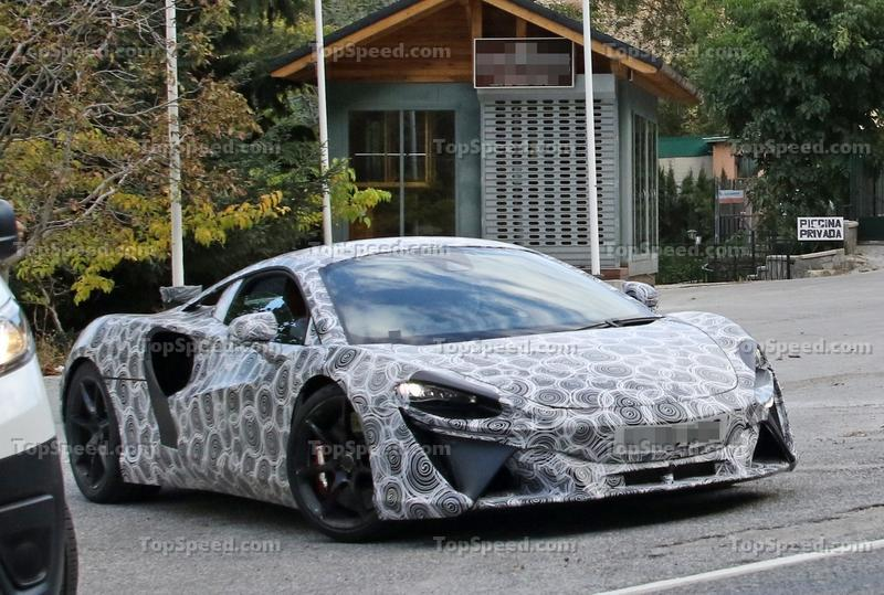 McLaren Might Start Giving Its Cars Normal Names More Often Exterior Spyshots - image 942838