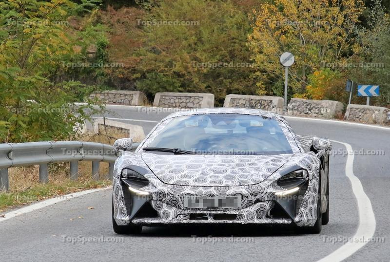McLaren Has Something HUGE Planned for Early 2021 Exterior Spyshots - image 942842
