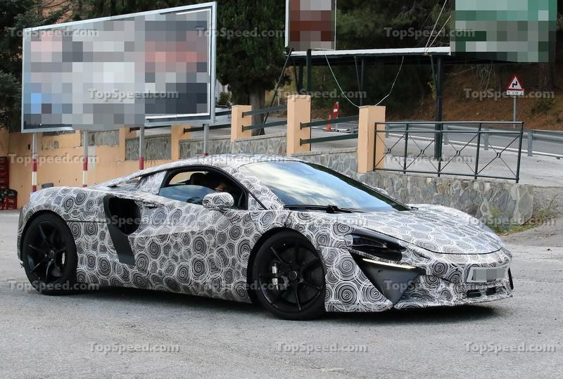McLaren Might Start Giving Its Cars Normal Names More Often Exterior Spyshots - image 942829