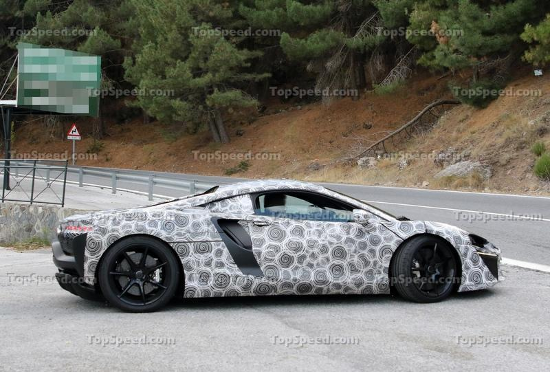 McLaren Might Start Giving Its Cars Normal Names More Often Exterior Spyshots - image 942831