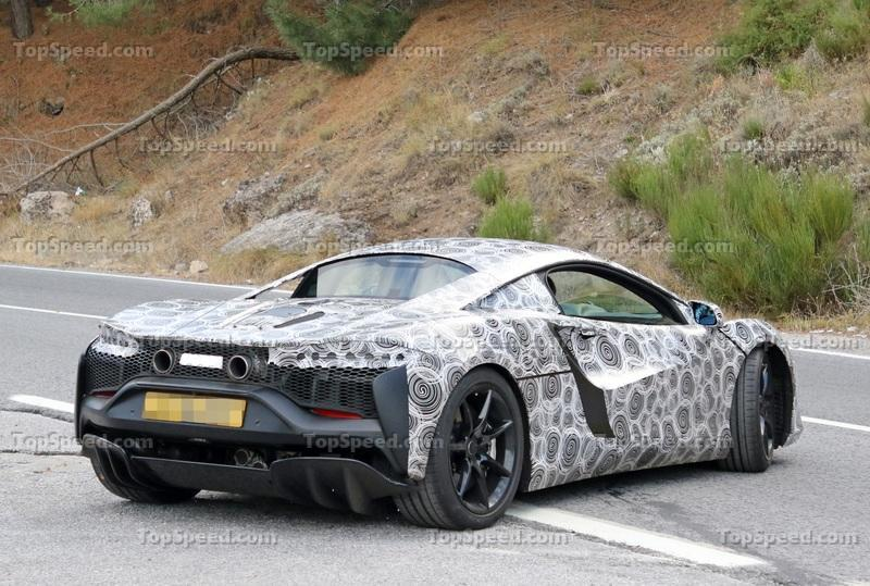 McLaren Might Start Giving Its Cars Normal Names More Often Exterior Spyshots - image 942833