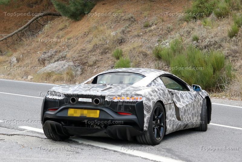 McLaren Has Something HUGE Planned for Early 2021 Exterior Spyshots - image 942834