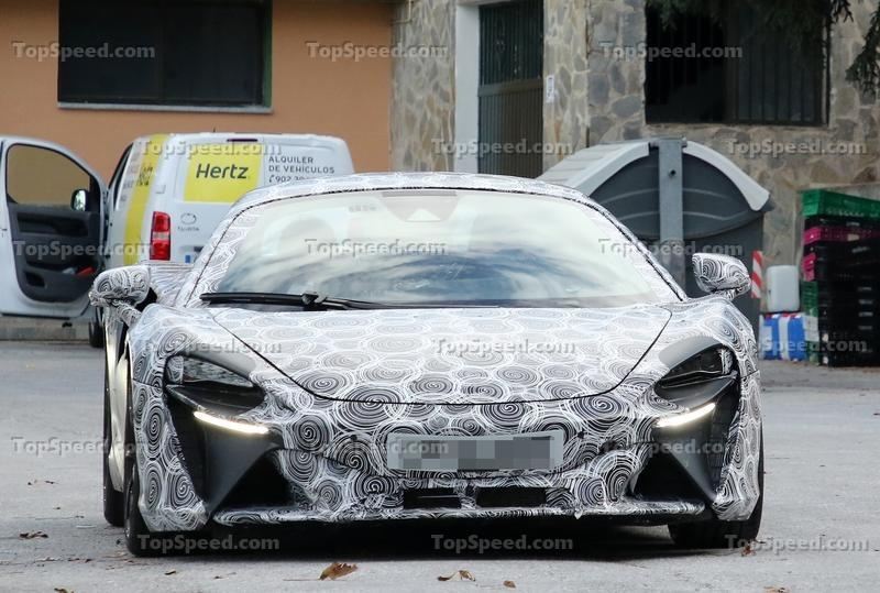 McLaren Might Start Giving Its Cars Normal Names More Often