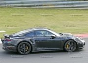 Porsche 911 Turbo Shows Its Ducktail In New Spy Shots - image 945003