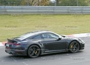 Porsche 911 Turbo Shows Its Ducktail In New Spy Shots - image 945004